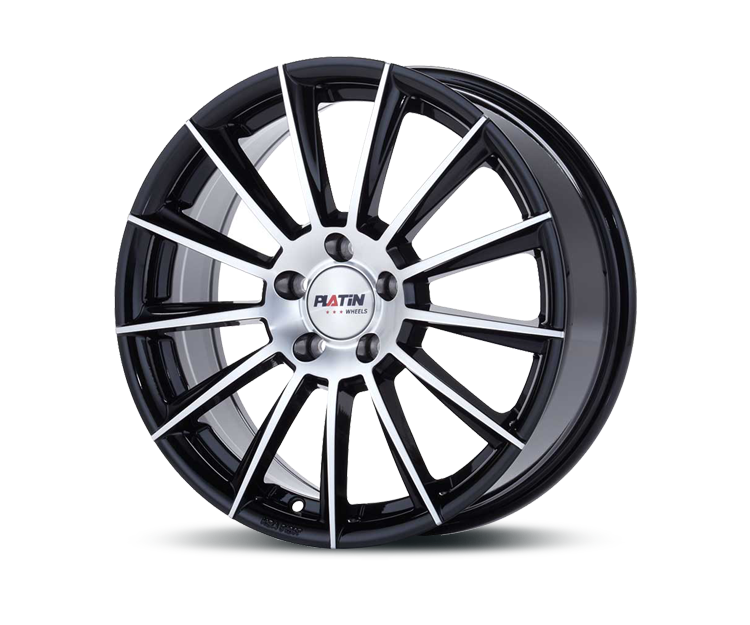 PLATIN P74 BLACK POLISHED Felgen