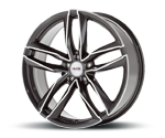 PLATIN P76 GREY POLISHED Felgen