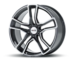 PLATIN P79 GREY POLISHED Felgen