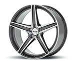 PLATIN P85 GREY POLISHED Felgen