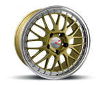 R-STYLE RS03 GOLD HORN POLISHED Felgen