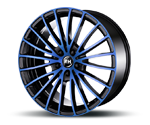 RH-ALURAD BM MULTISPOKE COLOR POLISHED-BLUE Felgen