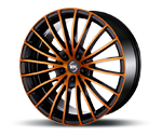 RH-ALURAD BM MULTISPOKE COLOR POLISHED-ORANGE