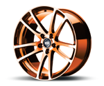 RH-ALURAD BO FLOWFORMING COLOR POLISHED-ORANGE