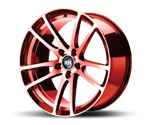 RH-ALURAD BO FLOWFORMING COLOR POLISHED-RED