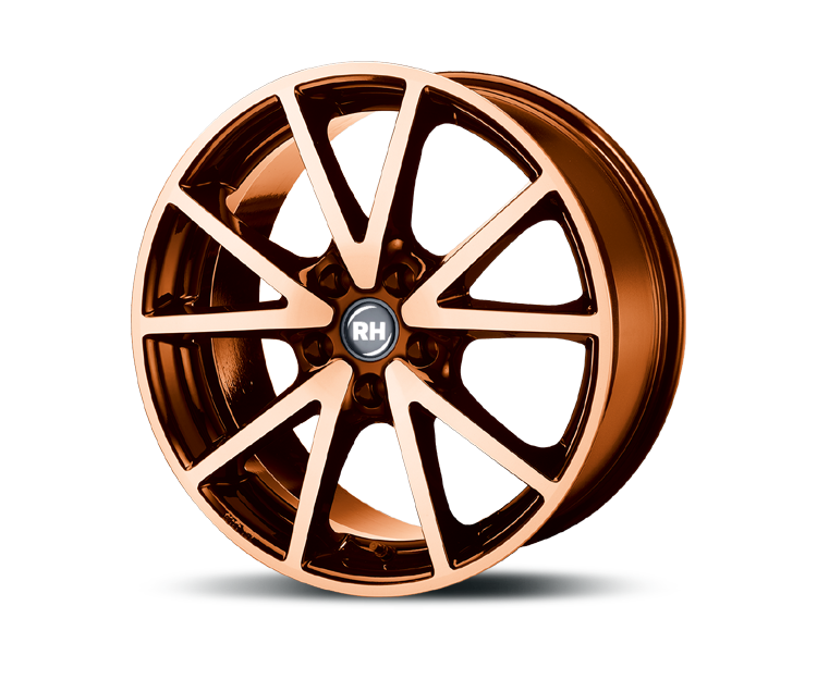 RH-ALURAD DE SPORTS COLOR POLISHED-ORANGE Felgen