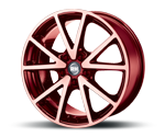 RH-ALURAD DE SPORTS COLOR POLISHED-RED Felgen
