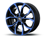 RH-ALURAD DF ENERGY COLOR POLISHED-BLUE Felgen