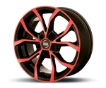 RH-ALURAD DF ENERGY COLOR POLISHED-RED Felgen