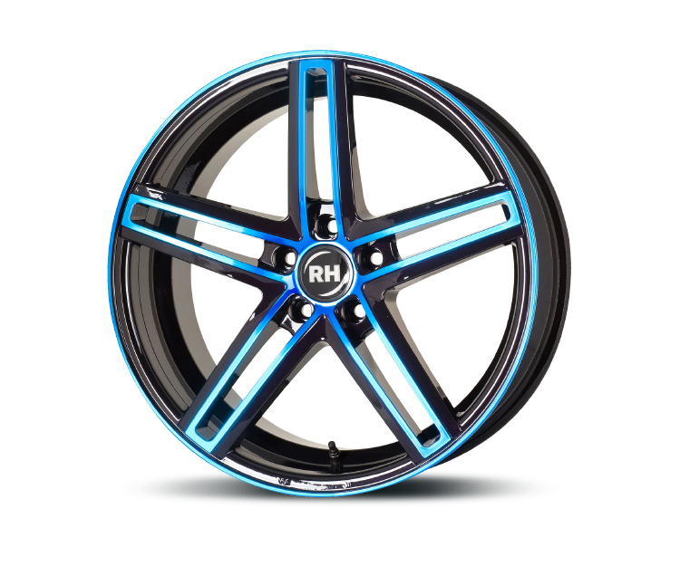 RH-ALURAD DG EVOLUTION COLOR POLISHED-BLUE Felgen