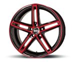 RH-ALURAD DG EVOLUTION COLOR POLISHED-RED