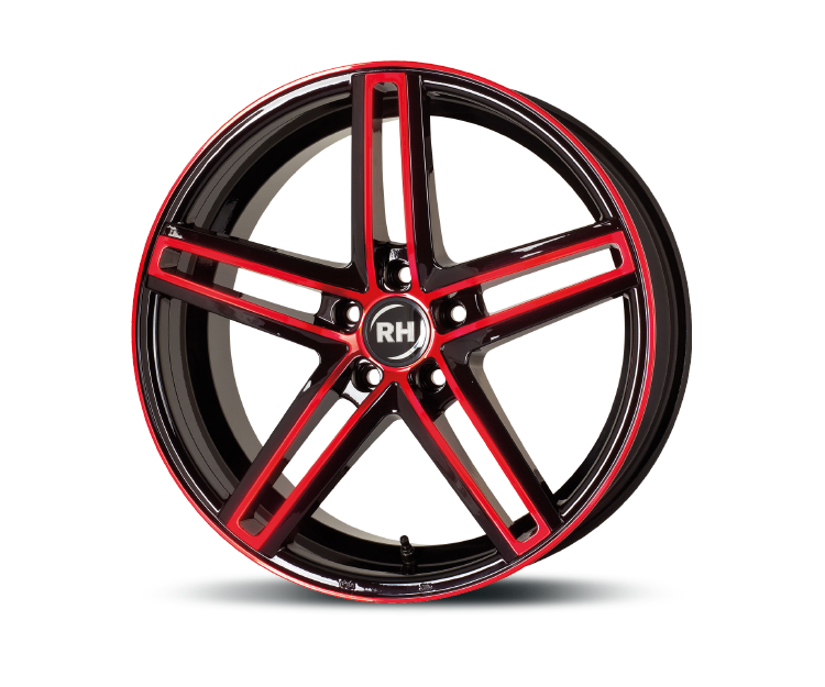 RH-ALURAD DG EVOLUTION COLOR POLISHED-RED Felgen