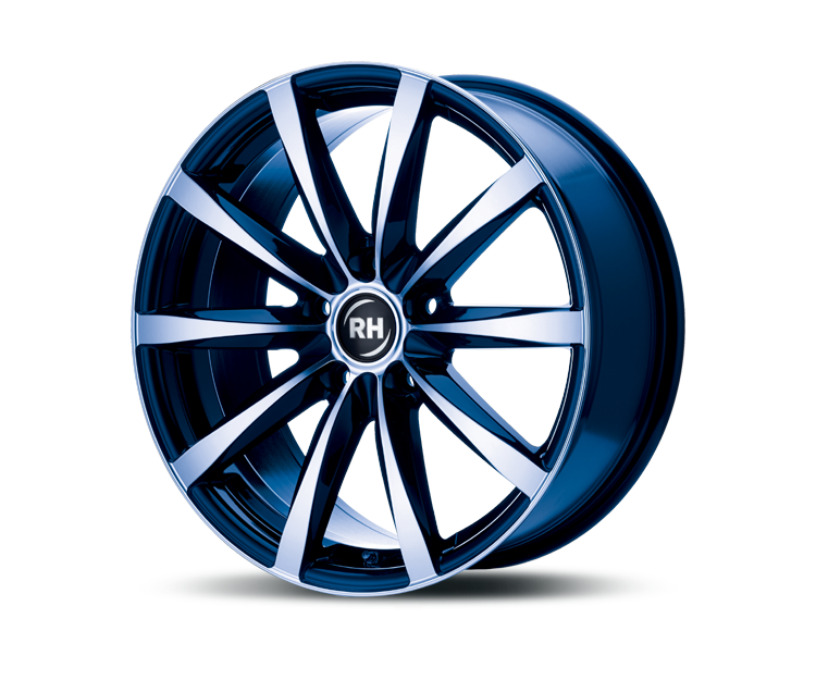 RH-ALURAD GT RAD COLOR POLISHED-BLUE Felgen