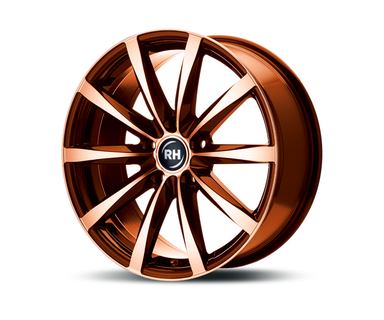 RH-ALURAD GT RAD COLOR POLISHED-ORANGE Felgen