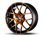 RH-ALURAD NBU RACE COLOR POLISHED-ORANGE Felgen