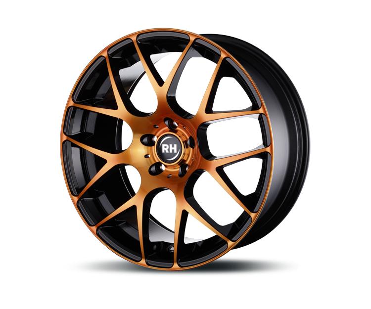 rh alurad nbu race color polished orange in 8 5 x 18 zoll. Black Bedroom Furniture Sets. Home Design Ideas