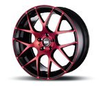RH-ALURAD NBU RACE COLOR POLISHED-RED Felgen