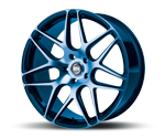 RH-ALURAD RB11 COLOR POLISHED-BLUE Felgen