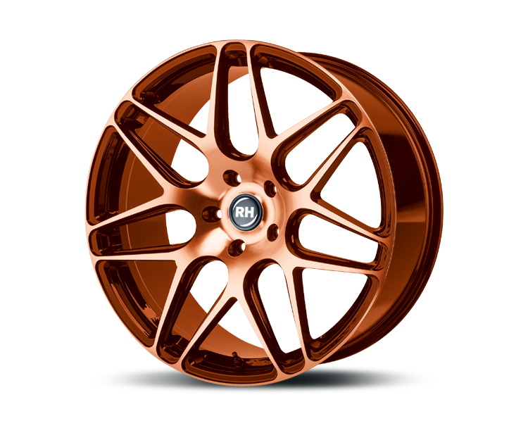 RH-ALURAD RB11 COLOR POLISHED-ORANGE Felgen