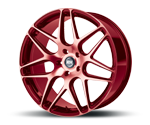 RH-ALURAD RB11 COLOR POLISHED-RED Felgen