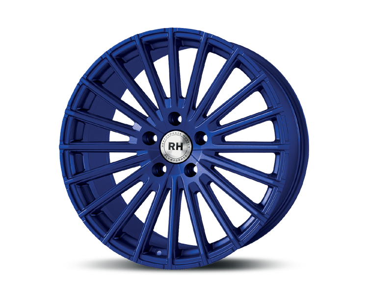 RH-ALURAD WM RAD COLOR POLISHED-BLUE Felgen