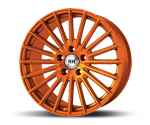 RH-ALURAD WM RAD COLOR POLISHED-ORANGE Felgen