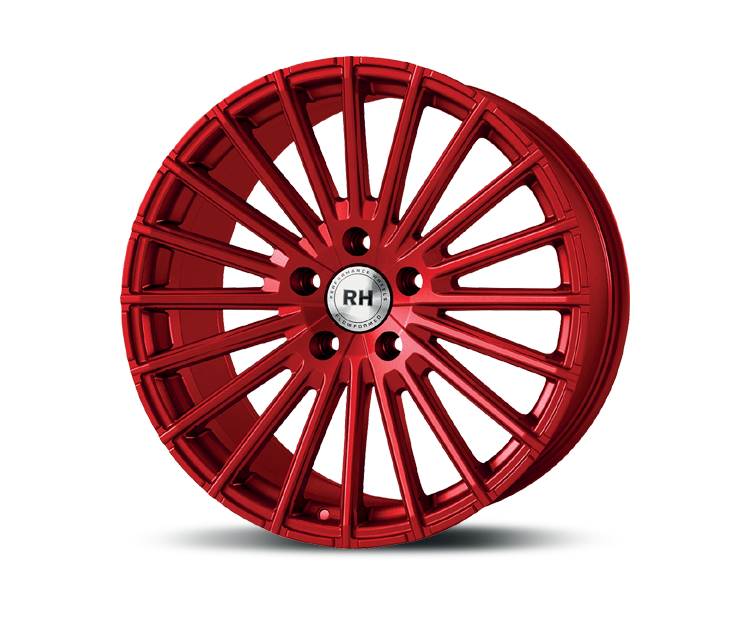 RH-ALURAD WM RAD COLOR POLISHED-RED Felgen
