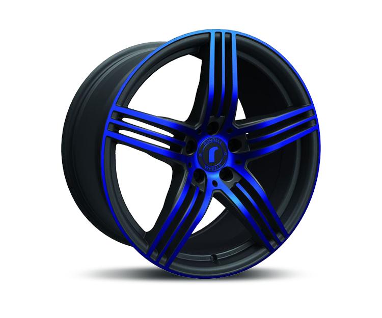 rondell 0217 black glossy blue elpho polish in 8 5 x 18. Black Bedroom Furniture Sets. Home Design Ideas