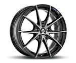 SPARCO TROFEO FUME BLACK FULL POLISHED Felgen