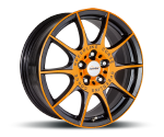 SPEEDLINE SL2 MARMORA RACING-ORANGE-MATTSCHWARZ Felgen