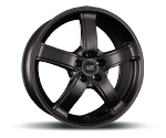 TEC-SPEEDWHEELS AS1 SCHWARZ SEIDENMATT Felgen