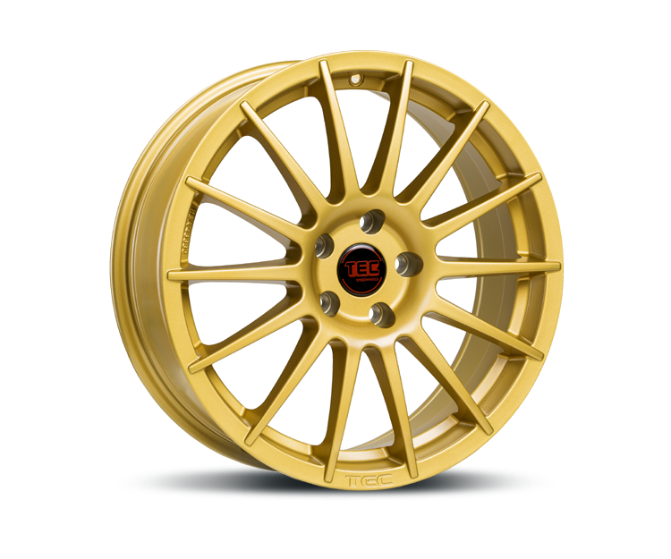 TEC-SPEEDWHEELS AS2 GOLD Felgen