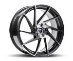 TOMASON TN17 TITANIUM DIAMOND POLISHED Felgen