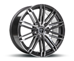 TOMASON TN18 GUNMETAL POLISHED Felgen