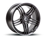 TOMASON TN5 GUNMETAL RIMPOLISHED Felgen