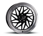 ULTRAWHEELS UA14 BLACK LIP POLISHED