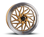 ULTRAWHEELS UA14 GOLD LIP POLISHED