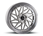 ULTRAWHEELS UA14 SILVER LIP POLISHED