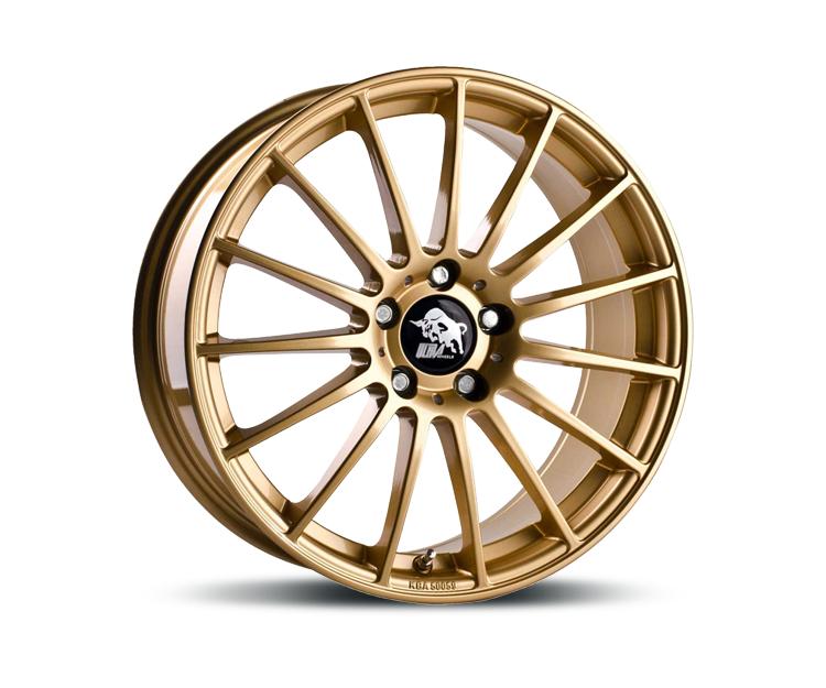 ultrawheels ua4 gold in 8 5 x 19 zoll felgen vom. Black Bedroom Furniture Sets. Home Design Ideas