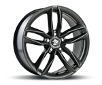 ULTRAWHEELS UA6 DARK GREY Felgen