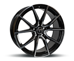 V1-WHEELS V1 BLACK FULL MACHINED Felgen