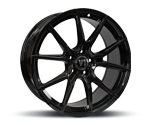 V1-WHEELS V1 BLACK GLOSSY PAINTED