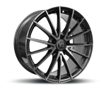 V1-WHEELS V2 DAYTONA GREY FULL MACHINED Felgen