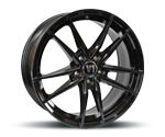 V1-WHEELS V3 BLACK GLOSSY PAINTED Felgen