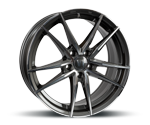 V1-WHEELS V3 DAYTONA GREY FULL MACHINED Felgen