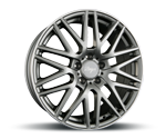 Z-DESIGN-WHEELS Z001 GREY LIP POLISHED