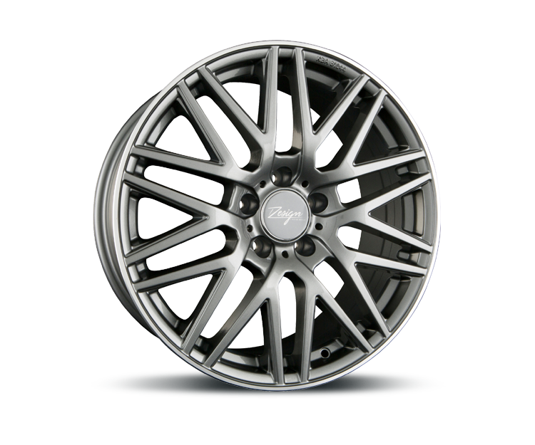 Z-DESIGN-WHEELS Z001 GREY LIP POLISHED Felgen