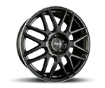 Z-DESIGN-WHEELS Z002 BLACK LIP POLISHED