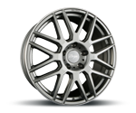 Z-DESIGN-WHEELS Z002 GREY LIP POLISHED