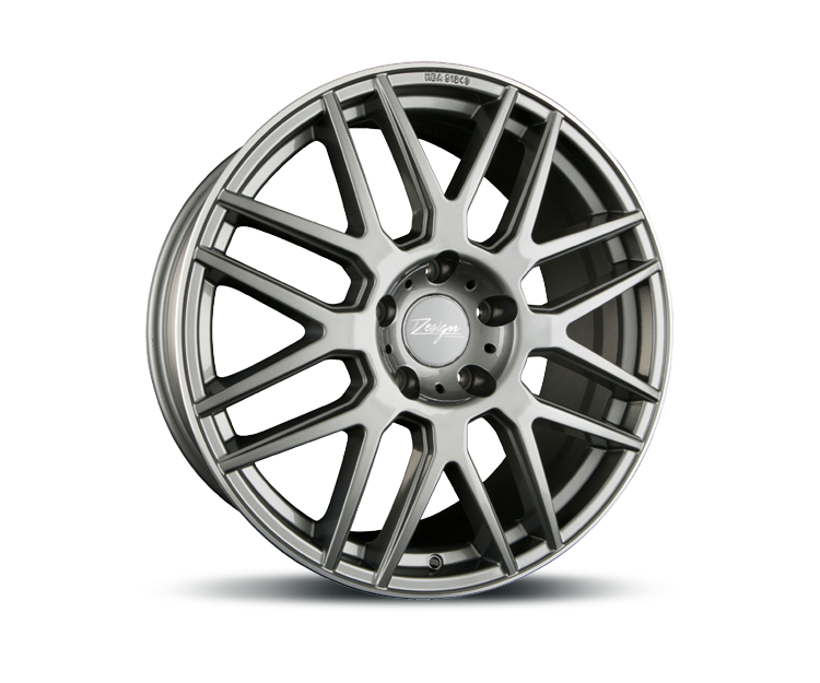 Z-DESIGN-WHEELS Z002 GREY LIP POLISHED Felgen